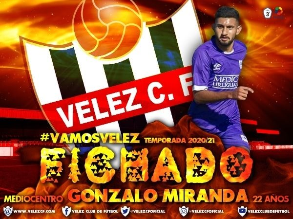 Velez C.F. Fichado Gonzalo
