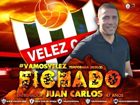 Vélez C.F. Fichado Nuevo entranador Juan Carlos