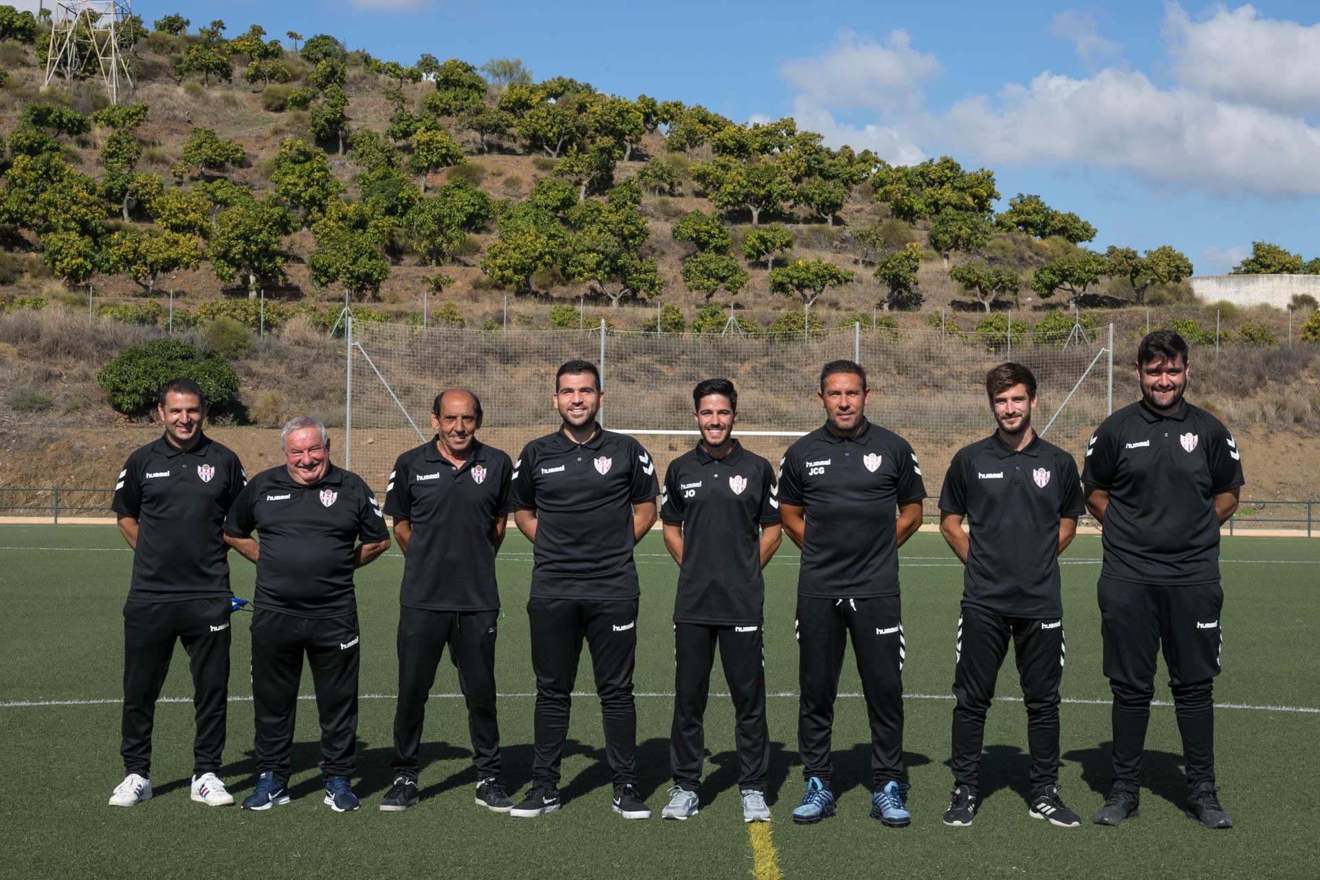 20-21 Vélez CF Cuerpo Técnico