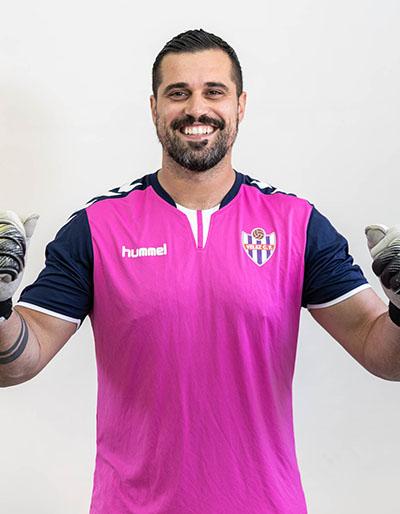 Vélez-CF-Portero Álex Caro