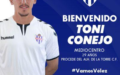 Fichado: Toni Conejo