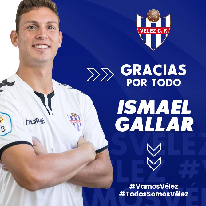 Ismael Gallar deja de pertenecer al Vélez CF