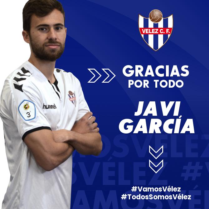 Javi García deja de pertenecer al Vélez CF