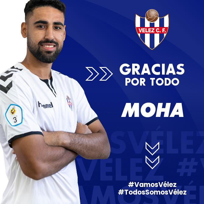 Moha deja de pertenecer al Vélez CF