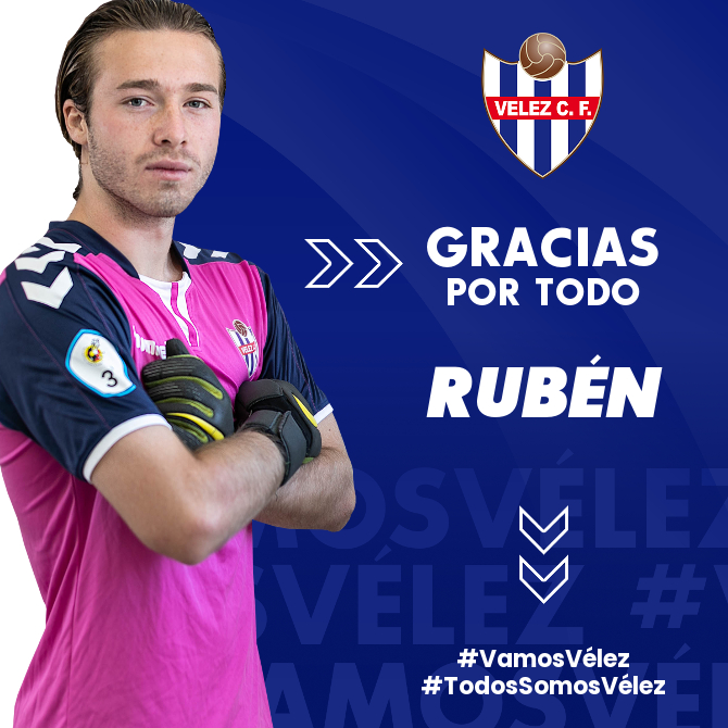 Rubén deja de pertenecer al Vélez CF