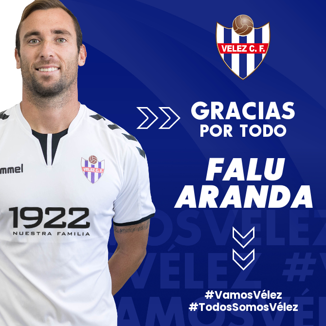 Falu Aranda deja de pertenecer al Vélez CF
