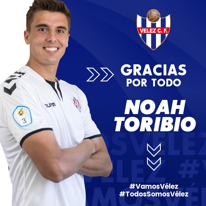 Noah Toribio deja de pertenecer al Vélez CF