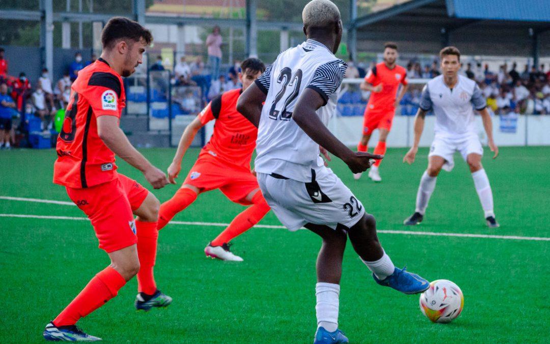 El Málaga se llevó el derby de pretemporada
