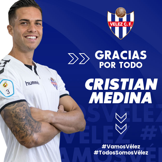Cristian deja de pertenecer al Vélez CF
