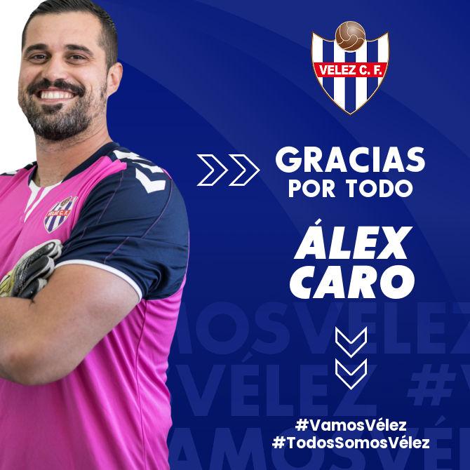 Álex Caro deja de pertenecer al Vélez CF
